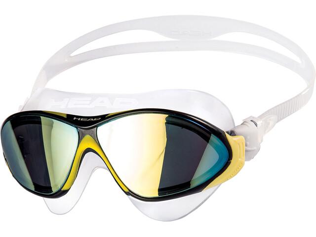 Head Horizon Mirrored Goggles clear/yellow/black/smoked